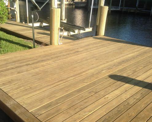 Duck Key Boat Deck